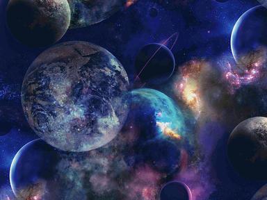 6172-4 Обои 1,06*10 м флиз горяч тисн Планета син