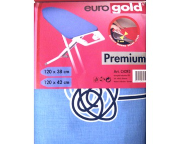 Чехол для гладильной доски EUROGOLD C-42