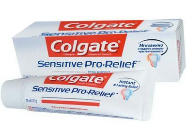 Зубная паста Колгейт Sensitive Pro-Relief  восстановление 75 мл