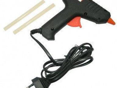 Пистолет для горячего склеивания 30Вт ф 8 мм FIT