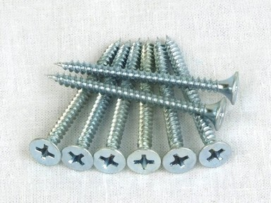 Саморезы оцинк. универс. 3х30б (27шт)