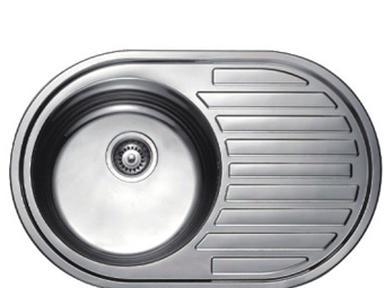 Мойка F65077 500х770х175мм 0,6 мм