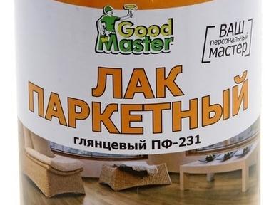 Лак паркетный ПФ-231 Good Master 0,75л