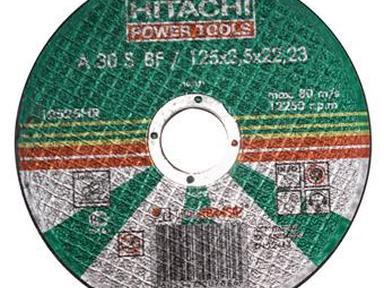 Диск отрезной по металлу Hitachi-Луга 125-1,2мм-22,2