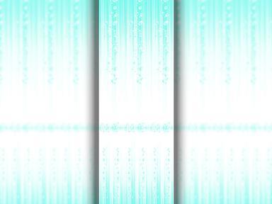 ПВХ панель  2700х250х8  Роса голубая