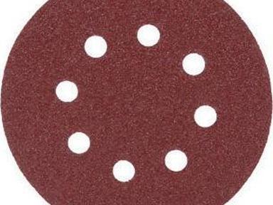 Круг абразивный перф. ф125  Р120 (5шт) FIT