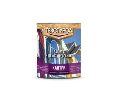 Текстурол Кантри антисептик 0,9л белый База А