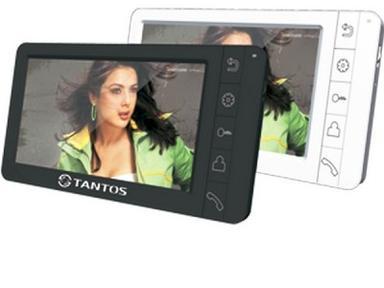 Видеодомофон цветной TANTOS Amelie (белый)