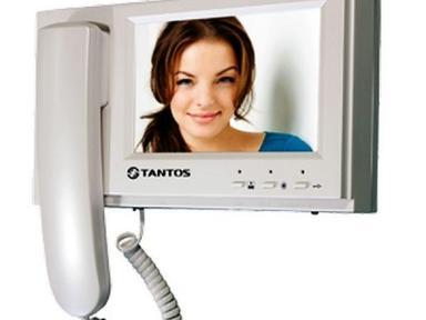 Видеодомофон цветной TANTOS LOKI (белый)