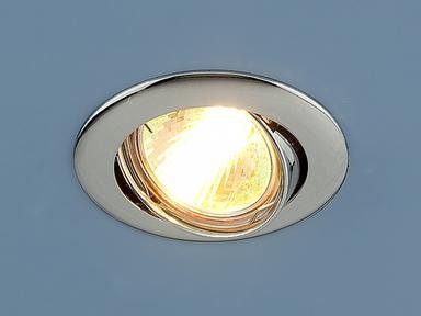 Светильник точ - 104S СН хром