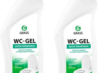 """Чистящие ср-во""""GRASS"""" WC gel для различных поверхностей 750 мл"""