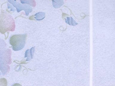 Пленка с/к 0,45м*8м арт 8026 D&B Цветы на гол плитке