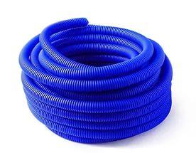 Кожух защитный гофрированный 20мм синий