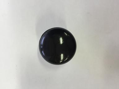 Ручка-кнопка пласт. черная