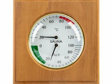 Термогигрометр квадрат ТН-11А (Ольха)