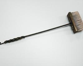 Щетка каминная 35х100х710мм кованная Алма (с ручкой)