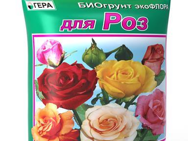 """БиоГрунт """"Для роз"""" 5л"""