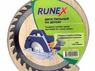 Диск пильный по дереву 250х32\30х60 RUNEX