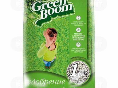 Удобрение сухое, с микроэлементами Green Boom Хвойное 1 кг.