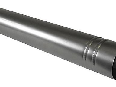 Труба-стояк для дымохода ф 110 мм черный - оцин