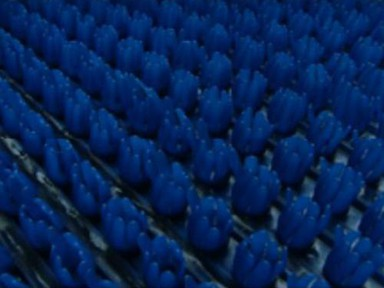 Коврик щетинистый 0,9х15 (синий)