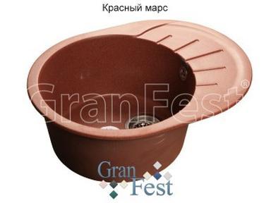 Мойки кухонные из керамогранита GRANFEST