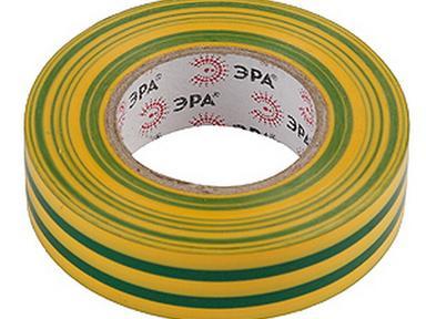 Изолента ПВХ 20*19  эра желто-зеленая
