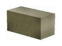 Блок пескобетон фундаментный  тяжелый 390х190х188мм вес 30кг