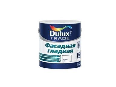 Краска Дюлакс фасадная гладкая 1л белая база BW