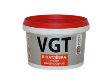 Шпатлевка готовая ВГТ универсальная акриловая 3,6кг