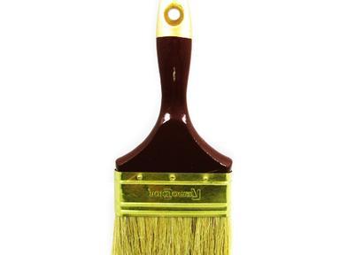 """Кисть флейцевая 4"""" 100мм натуральная для красок и эмалей"""