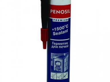 Герметик PENOSIL 1500* силикатный для печей 310мл черный