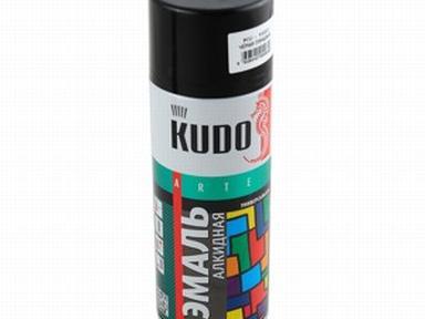 Грунтовка аэрозольная KUDO алкидная чёрная 520мл