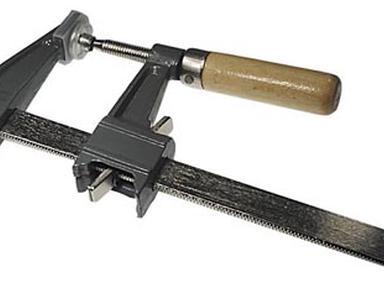 Струбцина столярная с пруж.фиксатором 500х120мм