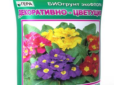 """БиоГрунт """"Для декорат-цветущих"""" 5л"""