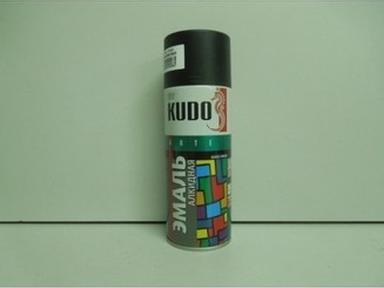 Краска аэрозоль KUDO 520мл тёмная серая KU-1016 RAL 7012
