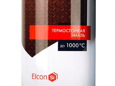 Эмаль термостойкая EICON 1000* чёрная 0,8кг