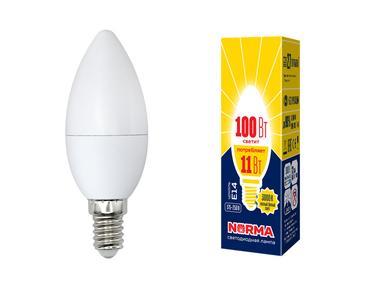 Лампа светодиодная C37-11W/WW/E14/FR/NR