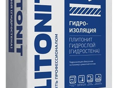 Гидроизоляция Плитонит обмазочная 20 кг