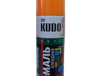 Краска аэрозоль KUDO 520мл по ржавчине молот.черно-бронзовая KU-3009