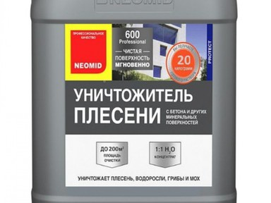 Средство д/удаления плесени NEOMID 600 5 кг концентрат 1:1