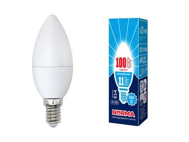 Лампа светодиодная C37-11W/WW/E27/FR/NR