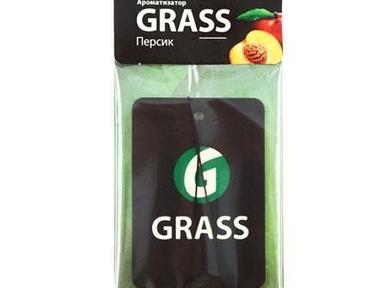 Ароматизатор картон в ассортименте GRASS