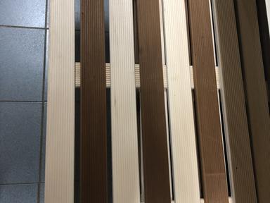 Решетка на пол 60х100см липа Риф термо комби для бани