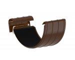 Соеденитель жолоба 0,7/Ф-125 коричневый