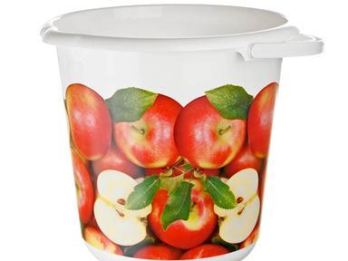 Ведро деко 10л яблоки 2426