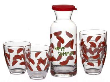 "Набор графин+стаканы ""Джангл Арбуз""96723"
