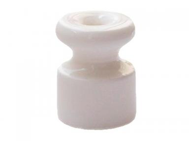 Изолятор Bironi, керамика, белый