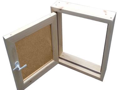 Окно для бани 60х40см липа,стеклопакет,стекло