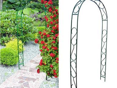 Арка садовая прямая 2,45*1,25*0,35м
